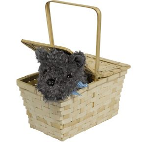Picnic Basket with Toto - Wizard of Oz