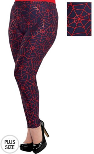 Spider-Girl Leggings Plus Size