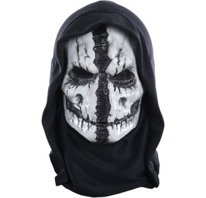 Grim Reaper Mask with Hood