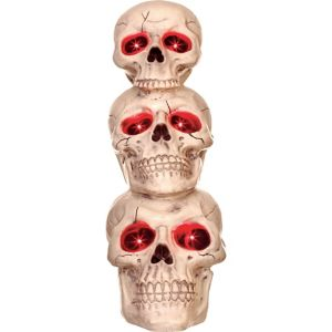 Light-Up Stack of Skulls