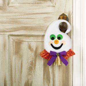 Plush Friendly Ghost Door Hanger