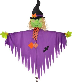 Giant Hanging Friendly Witch