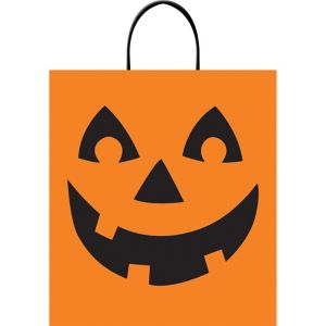Jack-o'-Lantern Trick-or-Treat Bag