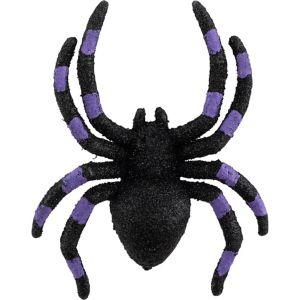 Glitter Spiders 4ct