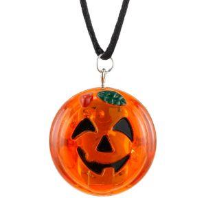 Light-Up Jack-o'-Lantern Necklace