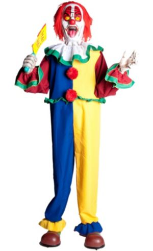 Animated Evil Clown