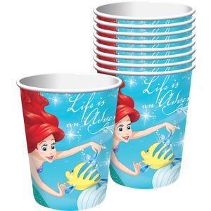 Little Mermaid Cups 8ct