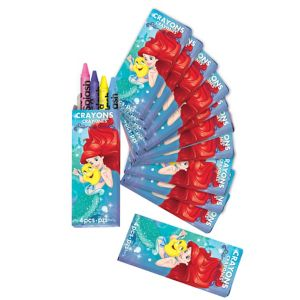 Little Mermaid Crayon Boxes 12ct