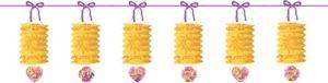 Rapunzel Paper Lantern Garland