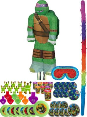 Donatello Pinata Kit with Favors - Teenage Mutant Ninja Turtles