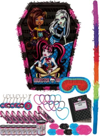 Monster High Pinata Kit with Favors