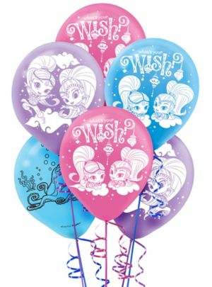 Shimmer and Shine Balloons 6ct