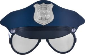 Child Police Hat Sunglasses