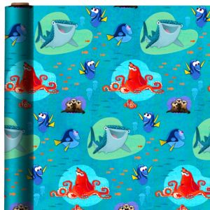 Finding Dory Gift Wrap