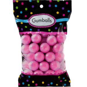 Bright Pink Gumballs 48pc