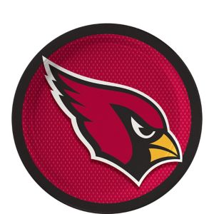 Arizona Cardinals Dessert Plates 18ct