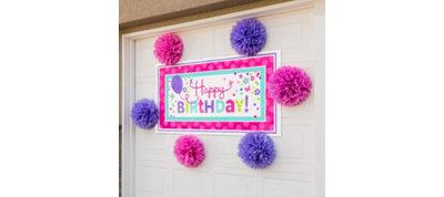 Pastel Banner Decorating Kit
