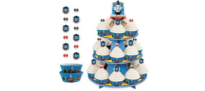 Thomas the Tank Engine Cupcake Kit for 24
