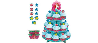 Little Mermaid Cupcake Kit for 24