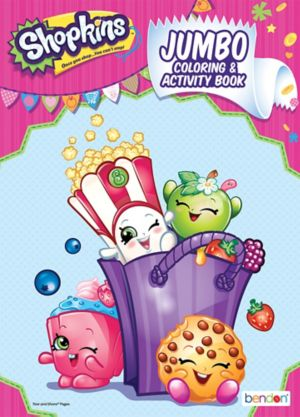 Shopkins Coloring amp Activity Book