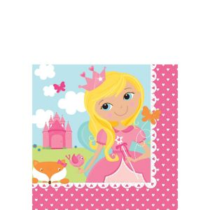 Woodland Fairy Birthday Beverage Napkins 16ct