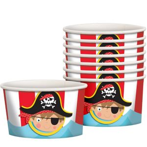 Little Pirate Treat Cups 8ct