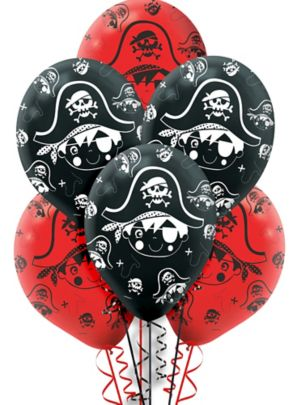 Little Pirate Balloons 6ct