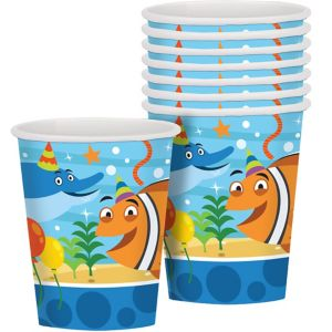Under the Sea Birthday Cups 8ct