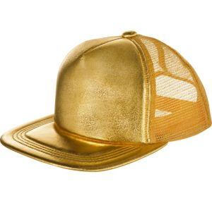 Gold Baseball Hat