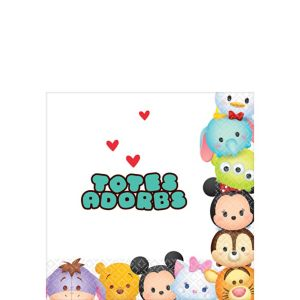 Tsum Tsum Beverage Napkins 16ct