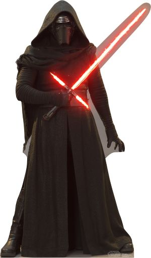 Kylo Ren Life Size Cardboard Cutout - Star Wars 7 The Force Awakens