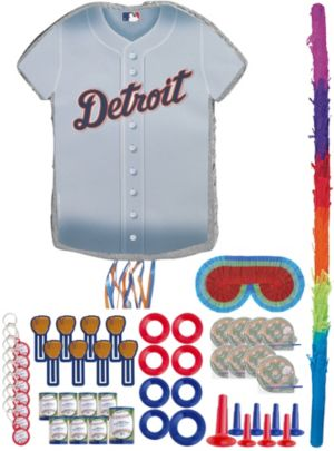 Detroit Tigers Pinata Kit with Favors