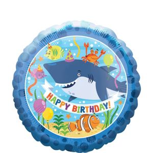 Under the Sea Happy Birthday Balloon