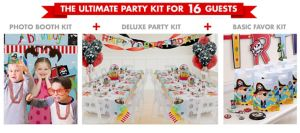 Little Pirate Ultimate Party Kit