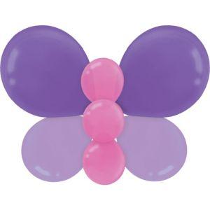 Purple Balloon Butterfly Kit