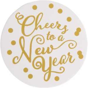 Cheers to a New Year Coasters 18ct
