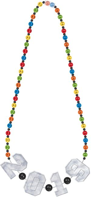 Colorful 2017 Bead Necklace