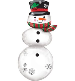 3D Giant Snowman Balloon