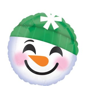 Jolly Snowman Balloon