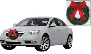 Christmas Car Wreath