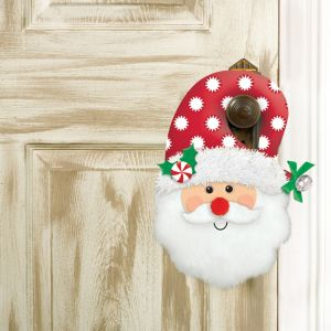Plush Santa Door Hanger