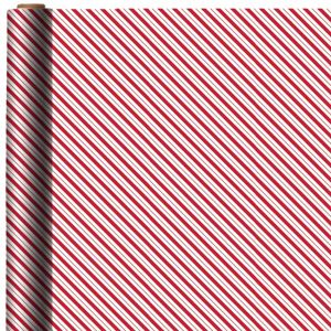 Red & White Striped Gift Wrap