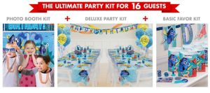 Finding Dory Ultimate Party Kit for 16 Guests