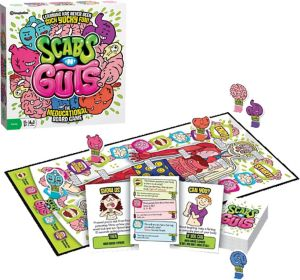 Scabs 'n' Guts Educational Board Game