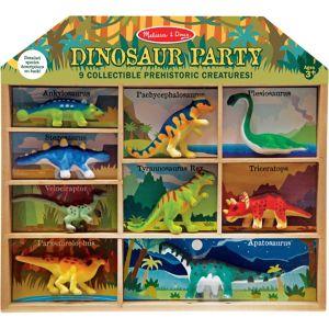Dinosaur Party Playset 9ct