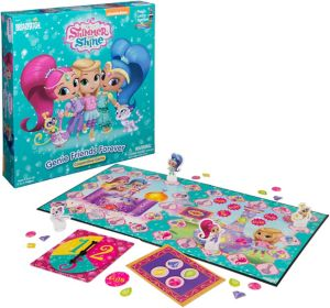 Shimmer and Shine Cooperative Board Game
