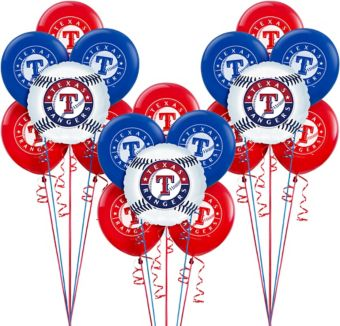 Texas Rangers Balloon Kit