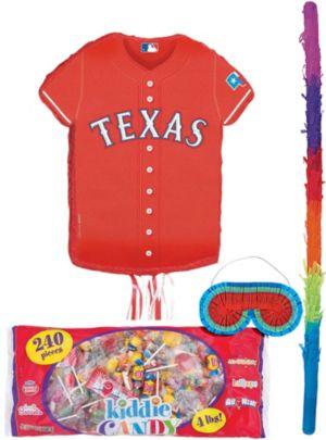 Texas Rangers Pinata Candy Kit