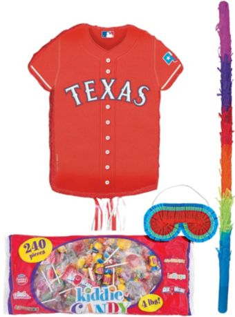Texas Rangers Pinata Kit