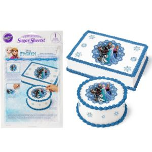 Wilton Frozen Sugar Sheet